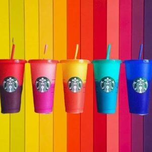 Starbucks Other - Personalized color changing Starbucks cold cup